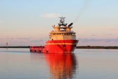 stock image of  platform supply vessel