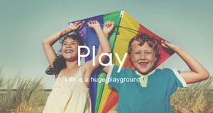 stock image of  play playful fun leisure activity joy recreational pursuit concept