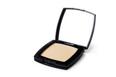 stock image of  powder compact
