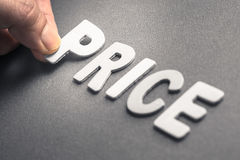 stock image of  price