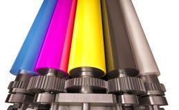 stock image of  print machine