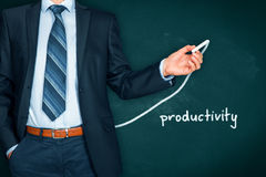 stock image of  productivity increase