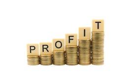 stock image of  profit