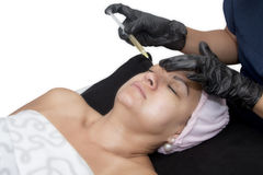 stock image of  prp - platelet rich plasma therapy