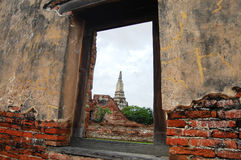 stock image of  putthaisawan temple ayutthaya , thailand