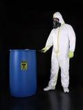 stock image of  radioactive substance