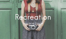 stock image of  recreation hobbies leisure pastime activity concept