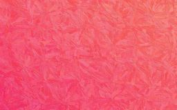 stock image of  red and pink impasto with large brush strokes background illustration.