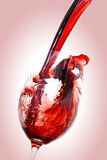 stock image of  red wine