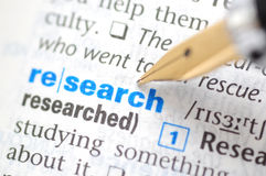 stock image of  research