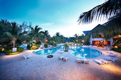 stock image of  resort pool