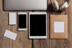 stock image of  responsive design mockup