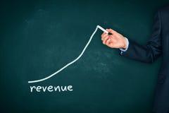 stock image of  revenue increase