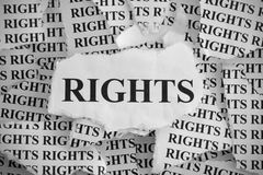 stock image of  rights