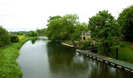 stock image of  river nene