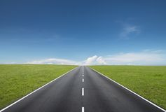 stock image of  road