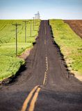 stock image of  country road