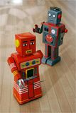 stock image of  robots