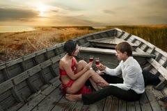 stock image of  romantic couple