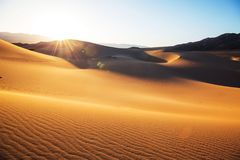 stock image of  sand dunes in california
