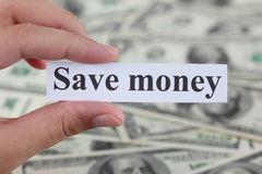 stock image of  save money
