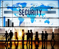 stock image of  security protection privacy policy confidentiality concept
