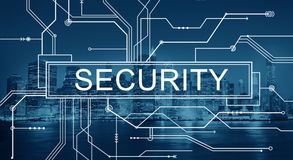stock image of  security shield privacy protection confidentiality concept