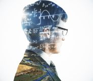 stock image of  science and education concept