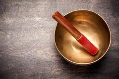 stock image of  singing bowl