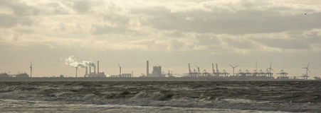 stock image of  skyline industry