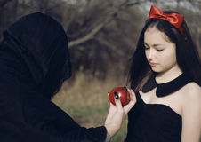 stock image of  snowwhite from fairy tales