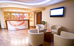 stock image of  spa waiting room