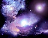 stock image of  space nebula