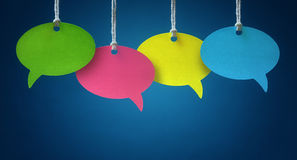 stock image of  speech bubbles