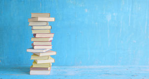 stock image of  stack of books