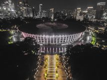 stock image of  stadium gbk