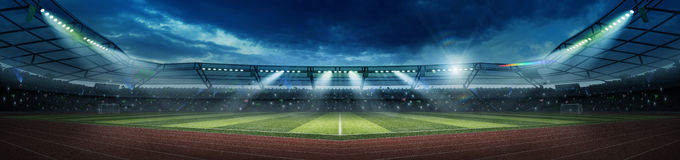 stock image of  stadium