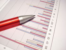 stock image of  statistics