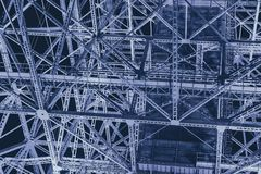 stock image of  steel metal industry construction futuristic science abstract for background