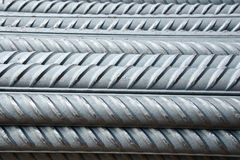stock image of  steel rods