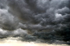 stock image of  storm cloud