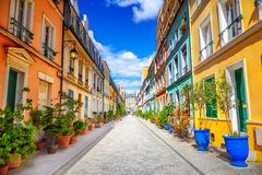 stock image of  street in paris
