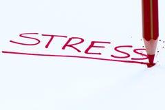 stock image of  stress
