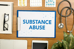 stock image of  substance abuse