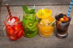 stock image of  summer drinks