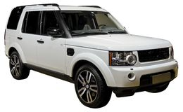 stock image of  suv isolated