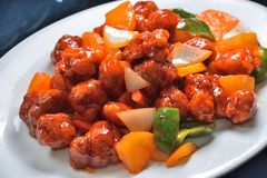 stock image of  sweet and sour pork
