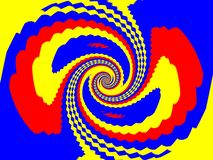 stock image of  rby spiral