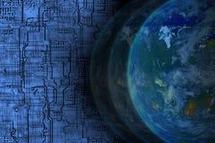 stock image of  technology worldwide