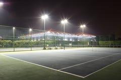 stock image of  tennis court